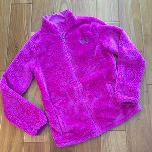 Fuchsia Fleece Jacket